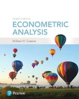 Econometric Analysis | William H. Greene |