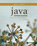 Java Software Solutions | Lewis, John ; Loftus, William |