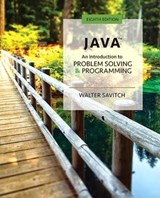 Java | Walter Savitch |