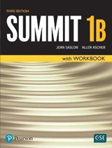Summit Level 1 Student Book/Workbook Split B | Joan Saslow |
