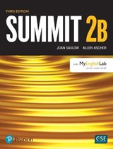 Summit Level 2 Student Book Split B W/ Myenglishlab | Joan Saslow |