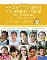 Making Content Comprehensible for Elementary English Learners | Echevarria, Jana ; Vogt, MaryEllen ; Short, Deborah J. |