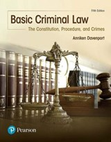 Basic Criminal Law | Anniken U. Davenport |