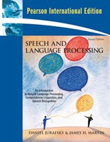 Speech and Language Processing | Daniel Jurafsky & James H. Martin |