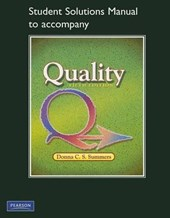 Student Solutions Manual to Accompany Quality
