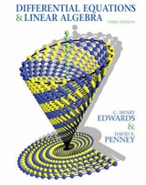 Differential Equations & Linear Algebra | Edwards, C. Henry; Penney, David E. |