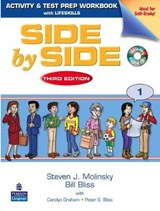 Side by Side 1 Activity & Test Prep Workbook (with 2 Audio CDs) | Steven J. Molinsky |