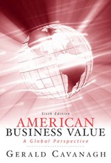 American Business Values | Gerald F. Cavanagh |
