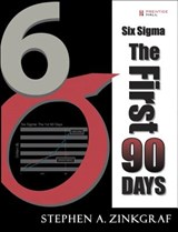 Six SIGMA--The First 90 Days (Paperback) | Stephen A. Zinkgraf |