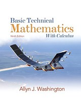 Basic Technical Mathematics with Calculus | Allyn J. Washington |