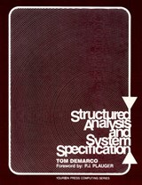 Structured Analysis and System Specification | Tom DeMarco |