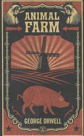 Animal farm (shepard fairey cover)