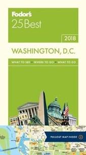 Fodor's 25 Best 2018 Washington, D.c.