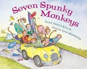Seven Spunky Monkeys | Jackie French Koller |