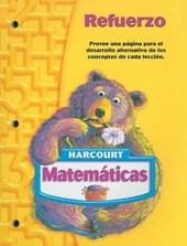 Harcourt Matematicas Refuerzo, Grado