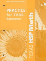 Texas HSP Math Practice for TAKS Success, Grade | auteur onbekend |