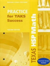 Texas HSP Math Practice for TAKS Success, Grade