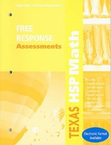 Texas HSP Math Free Response Assessments | auteur onbekend |
