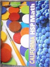 Harcourt School Publishers Spanish Math California