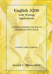 English 3200 With Writing Applications
