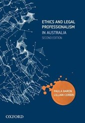 Ethics and Legal Professionalism in Australia | Paula Baron |