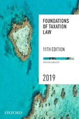 Foundations of Taxation Law 2019 | Stephen (professor, School of Law, Monash University) Barkoczy |