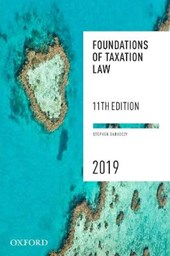 Foundations of Taxation Law 2019