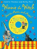 Winnie the Witch: Stories, Music, and Magic! with audio CD | Valerie Thomas |