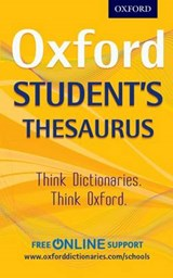 Oxford Student's Thesaurus |  |