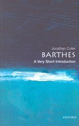 Barthes | Jonathan Culler |