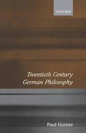 Twentieth-Century German Philosophy