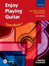 Enjoy Playing Guitar Tutor Book 1 + CD | Debbie Cracknell |