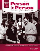 Person to Person 2, Teacher's Book | Jack C. Richards |