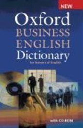 Oxford Business English Dictionary for learners of English: