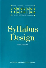 Syllabus Design | David Nunan |