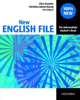 New English File Pre-intermediate: Student's Book | Clive Oxenden ; Christina Latham-Koenig ; Paul Seligson |