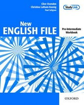 New English File: Pre-intermediate: Workbook | Christina Latham-Koenig |