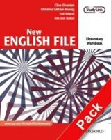 New English File: Elementary: Workbook with key and MultiROM Pack | Oxenden, Clive ; Latham-Koenig, Christina ; Seligson, Paul ; Hudson, Jane |