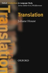 Translation | Juliane House |