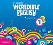 Incredible English 1. 2nd edition. Class Audio CDs