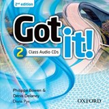 Got It: Level 2: Class Audio CD (2 Discs) | auteur onbekend |