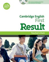 FCE Result: Teacher's Pack Including Assessment Booklet with DVD and Dictionaries Booklet