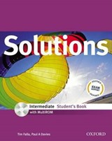 Solutions: Intermediate: Student's Book with MultiROM Pack | Tim Falla |