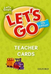 Let's Go, Let's Begin Teacher Cards