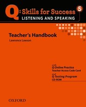 Q Skills for Success 5. Listening and Speaking. Teacher's Book with Testing Program CD-ROM