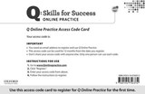 Q: Skills for Success Access Code Card | Marguerite Anne Snow; Lawrence J Zwier |