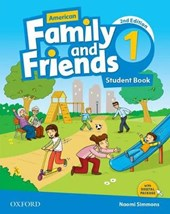 American Family and Friends 1. Student Book