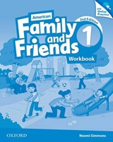 American Family and Friends 1. Workbook with Online Practice | Naomi Simmons |