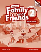 American Family and Friends 2. Workbook with Online Practice