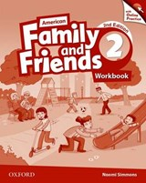 American Family and Friends 2. Workbook with Online Practice | Naomi Simmons |